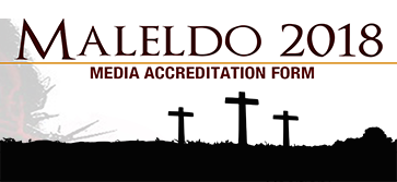 Maleldo 2018 Media Accreditation Form