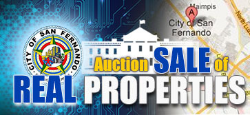 Auction Sale of Real Properties