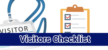 View and Download Visitors Checklist