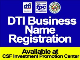 DTI Business Name Registration Is Now Available