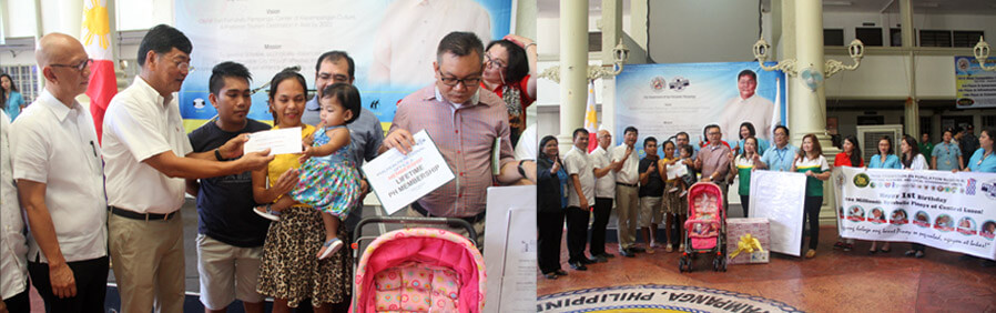 100 Millionth Baby Gets Assistance From CSF