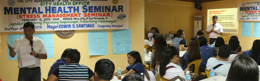 Stress Management Seminar Held For CSF Employees