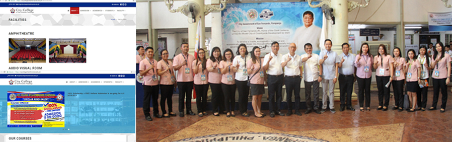 City College of San Fernando launched official website