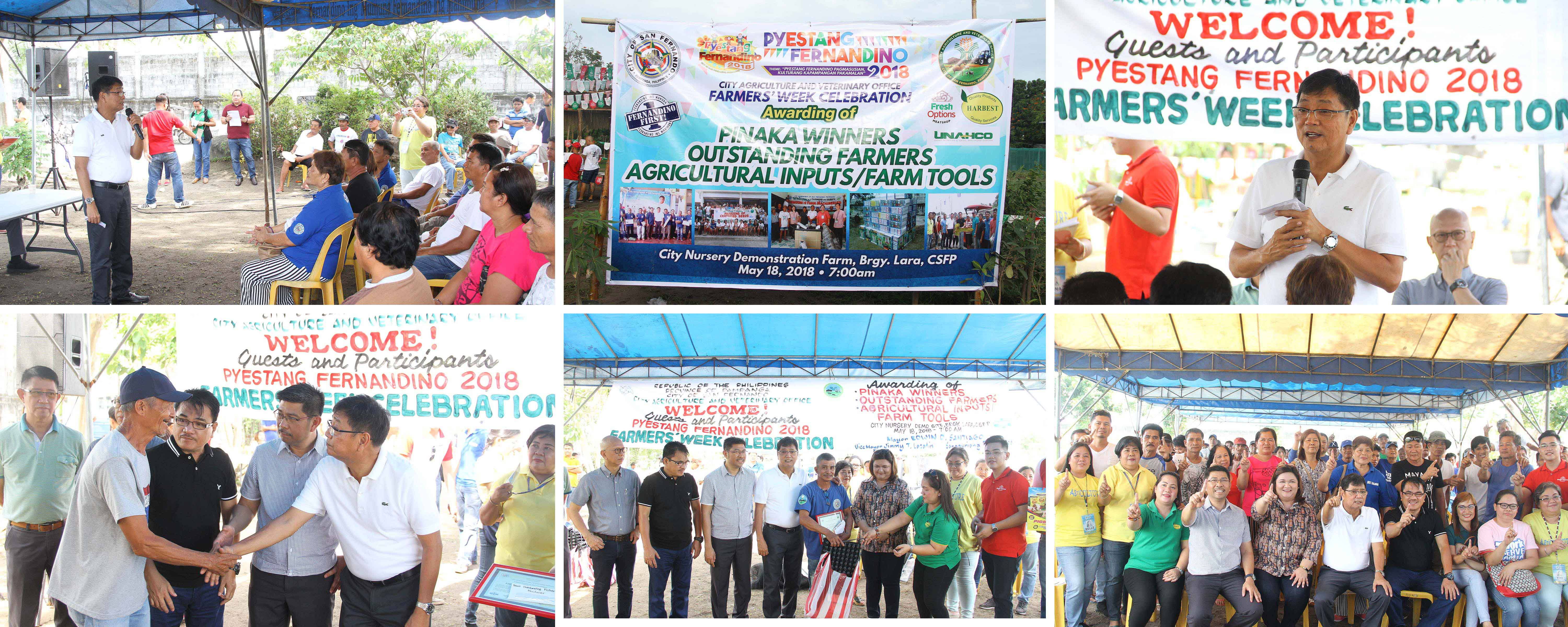 CSF recognizes outstanding Fernandino farmers