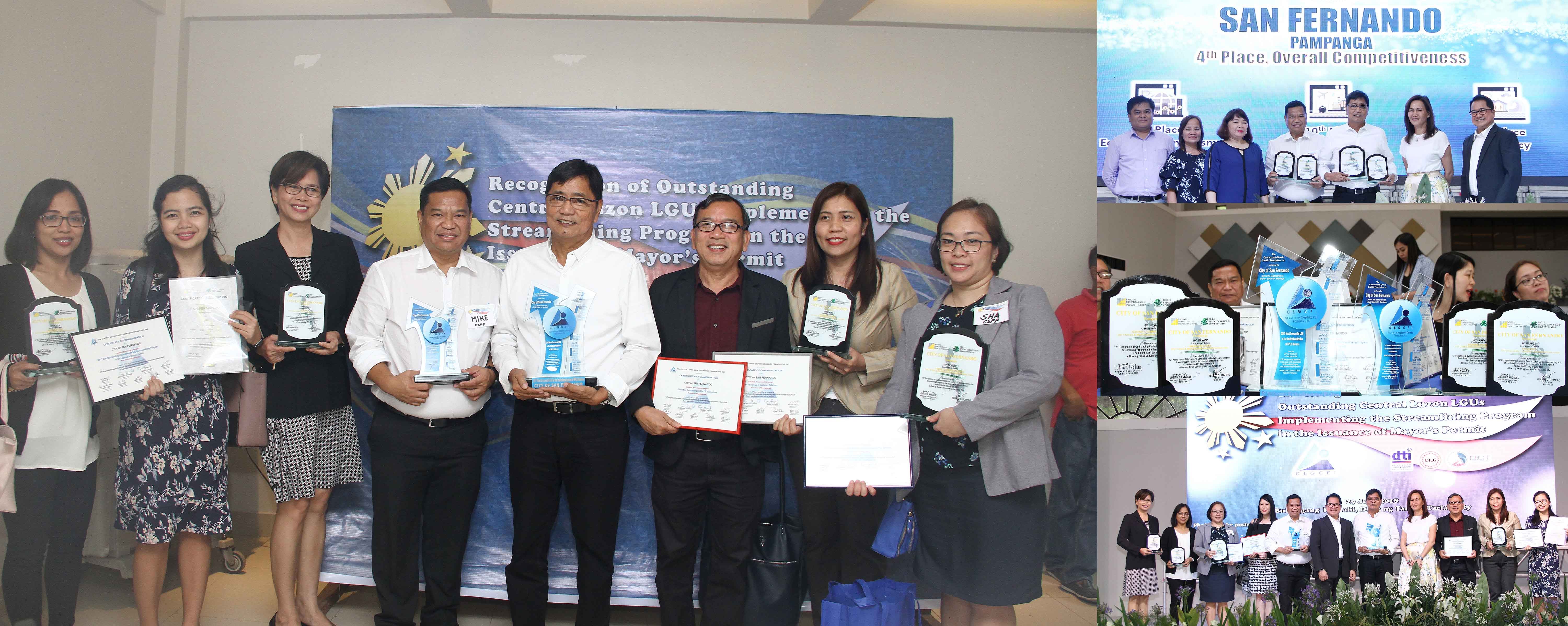CSF recognized as Outstanding LGU in BPLS reform