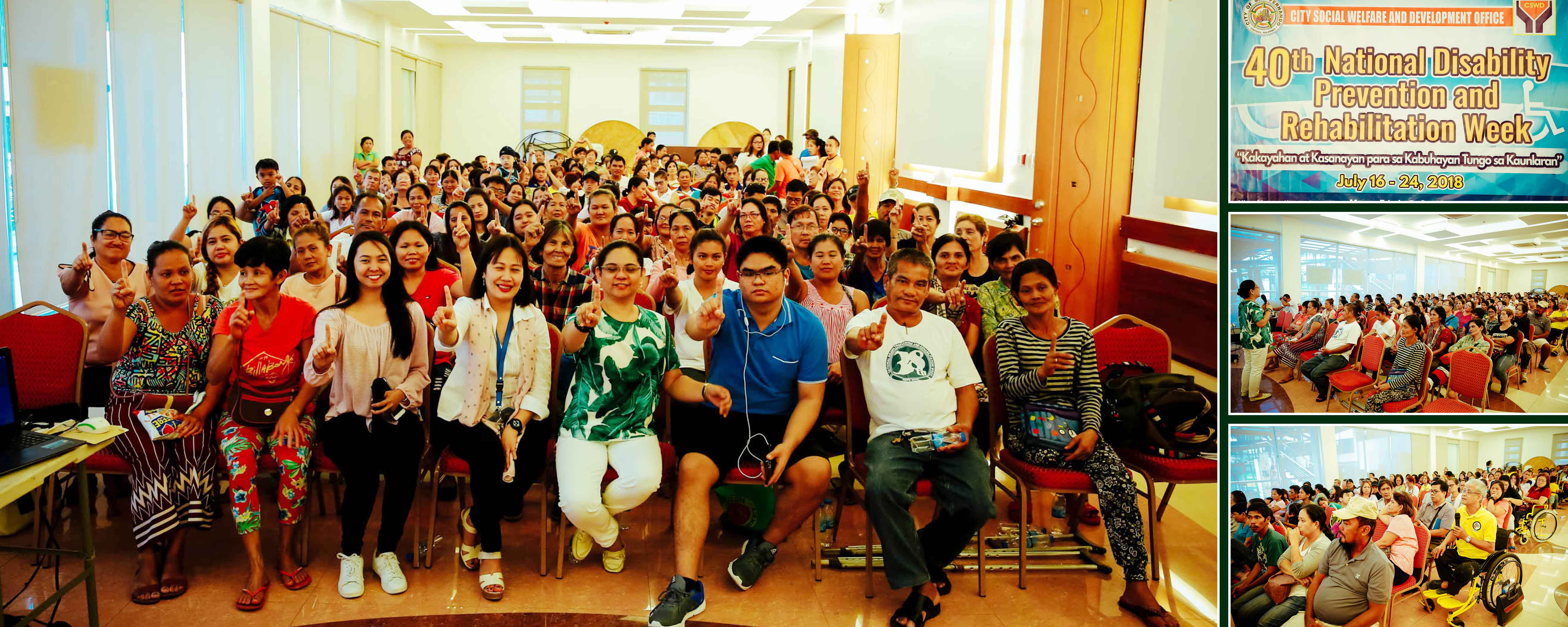 CSF makes move to empower PWDs