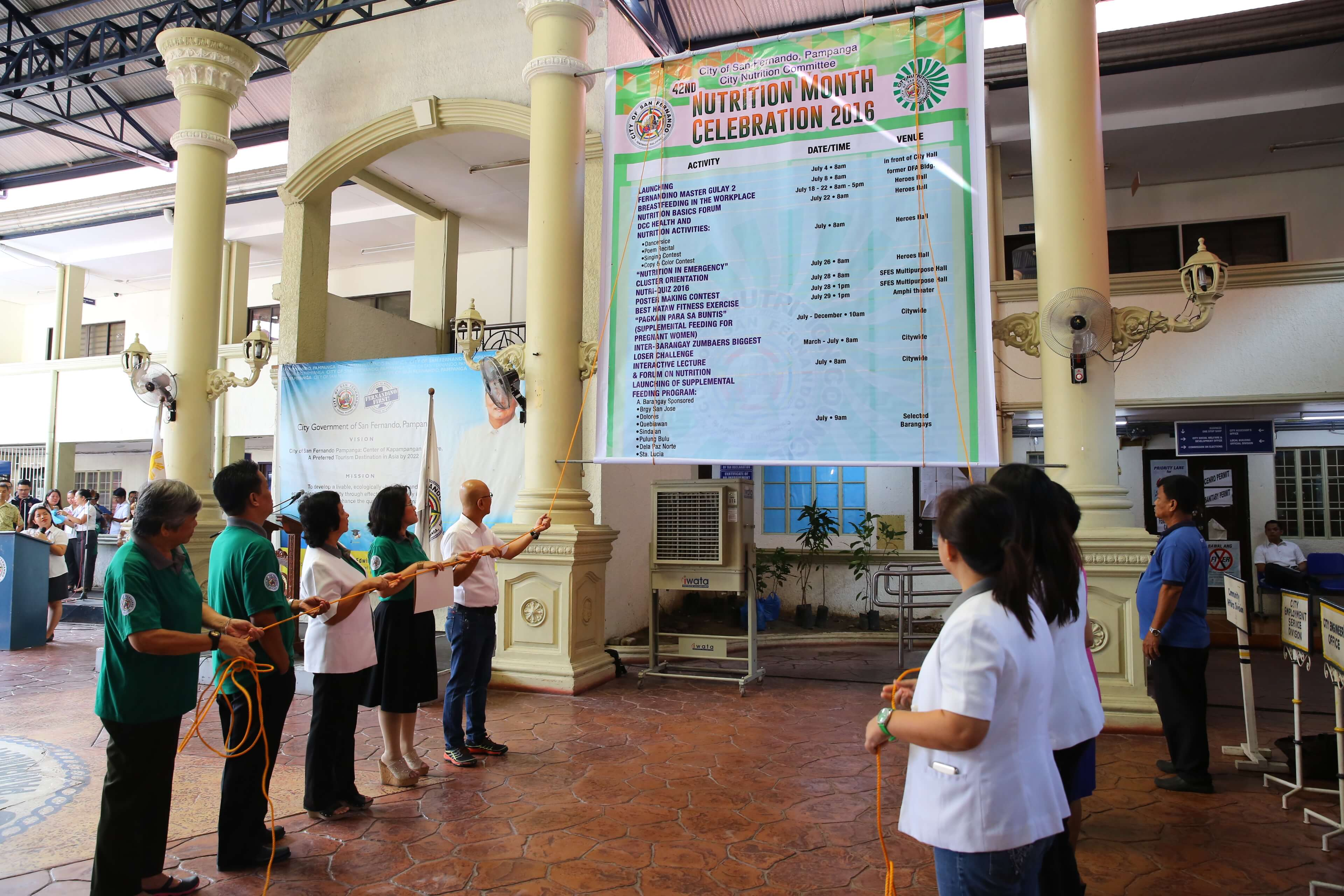 CSF Gears Up For Nutrition Month