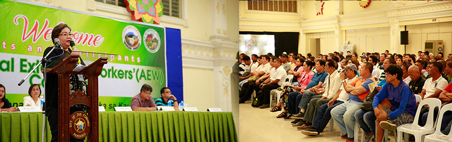 Pampanga Agricultural Extension Workers' Congress held in CSF