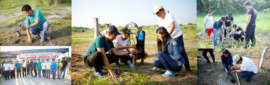 200 trees planted in CSF crucifixion site