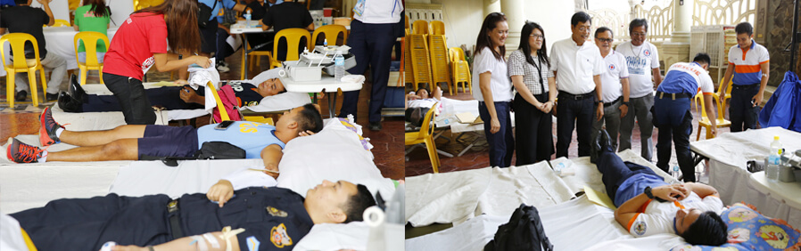 CSF conducts bloodletting program