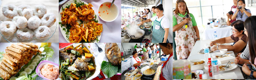 CSF promotes healthy foods through a cooking festival