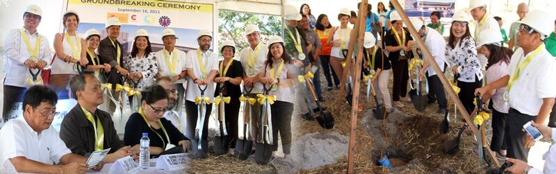 Mayor EdSa Graces CHR`s Groundbreaking Ceremony