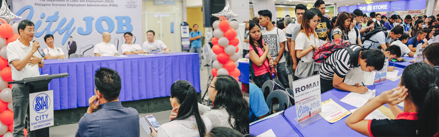 Hundreds hired on the spot in CSF Job Fair