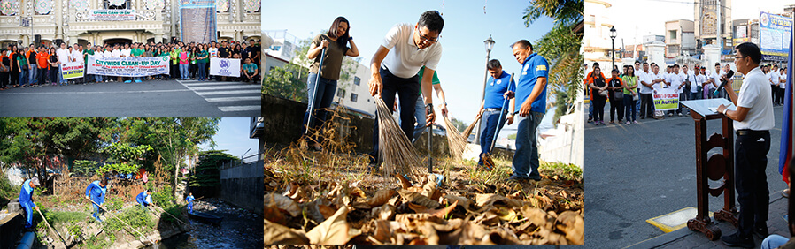 CSF holds Clean-Up day