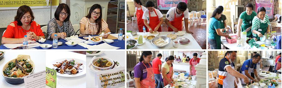 CSF-LGU employees promote healthy eating