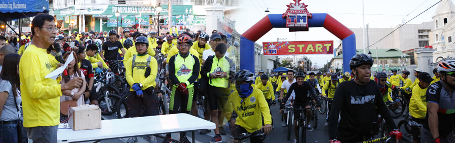 CSF Cycling Caravan attracts thousands of cyclists