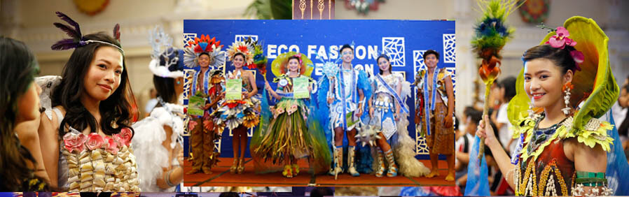 CSF promotes use of recycled materials through fashion show