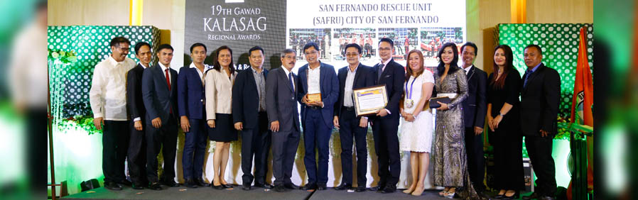 CSF bags regional Gawad Kalasag for fifth time