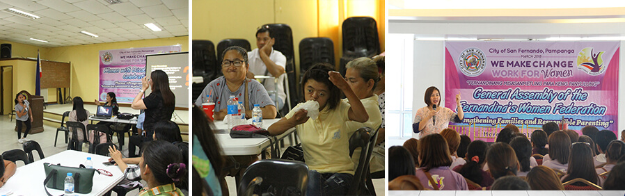 CSF culminates Women's Month celebration with back-to-back seminars