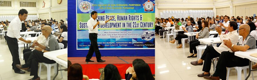 CCSFP holds human rights seminar for teachers