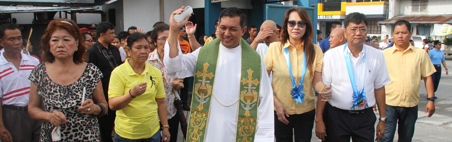 Mayor EdSa Inaugurates 4 Infra Projects In Barangay San Nicolas