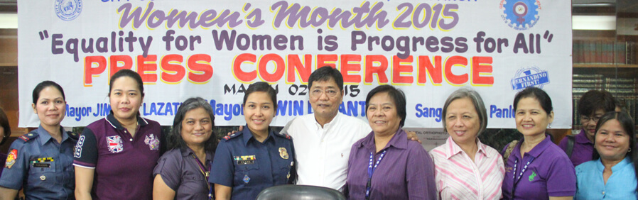 San Fernando Celebrates Women's Month