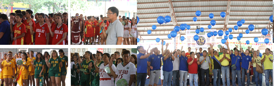 CSF OPENS INTER-BARANGAY VOLLEYBALL TOURNEY