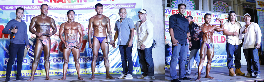 CSF promotes healthy lifestyle through body building contest