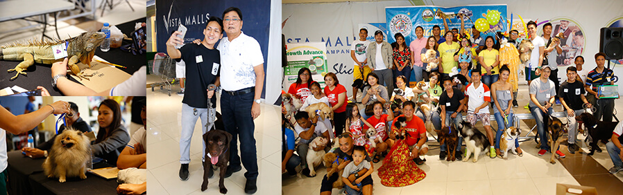 Animals show off skills in CSF's 'Pet Mo, Show Mo'