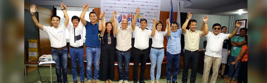 Comelec Proclaims CSF Local Officials