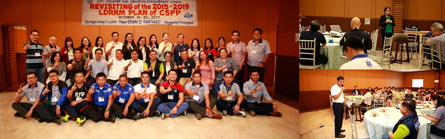 CSF revisits LDRRM plan for 2015-2019