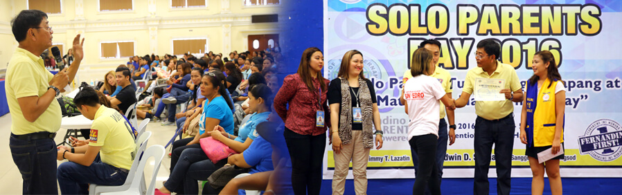 San Fernando Honors Solo Parents