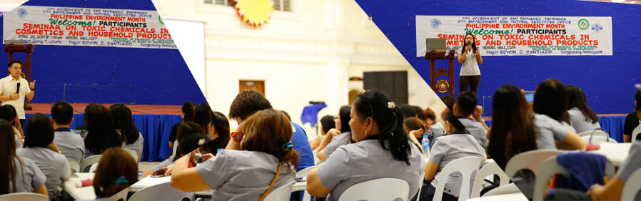 City Gov't employees attend seminar on Toxic Chemicals in Cosmetics and Household Products