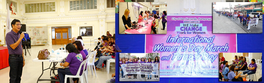 CSF holds Women's March and Pampering Day