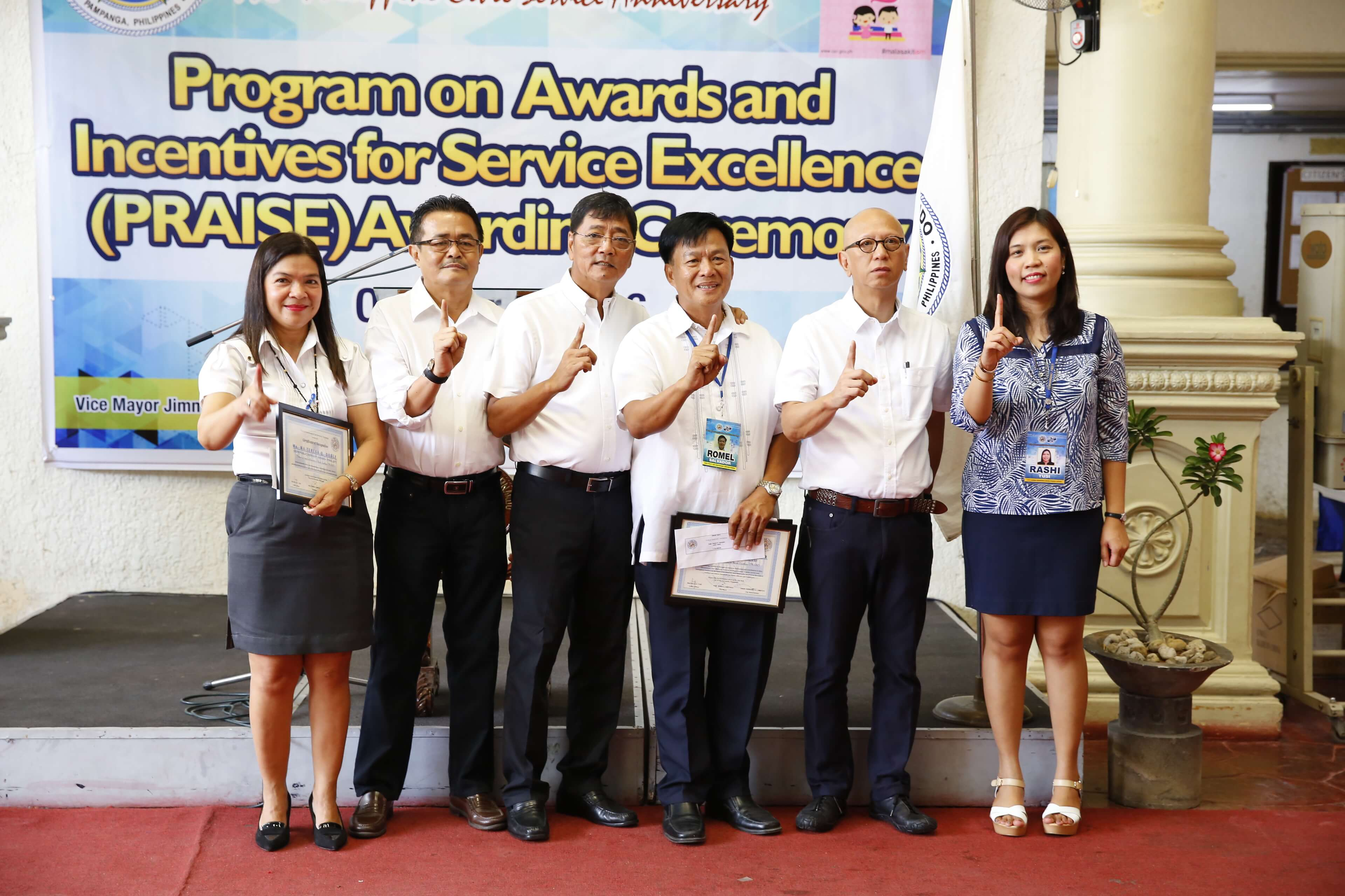 CSF Lauds Outstanding City Hall Employees