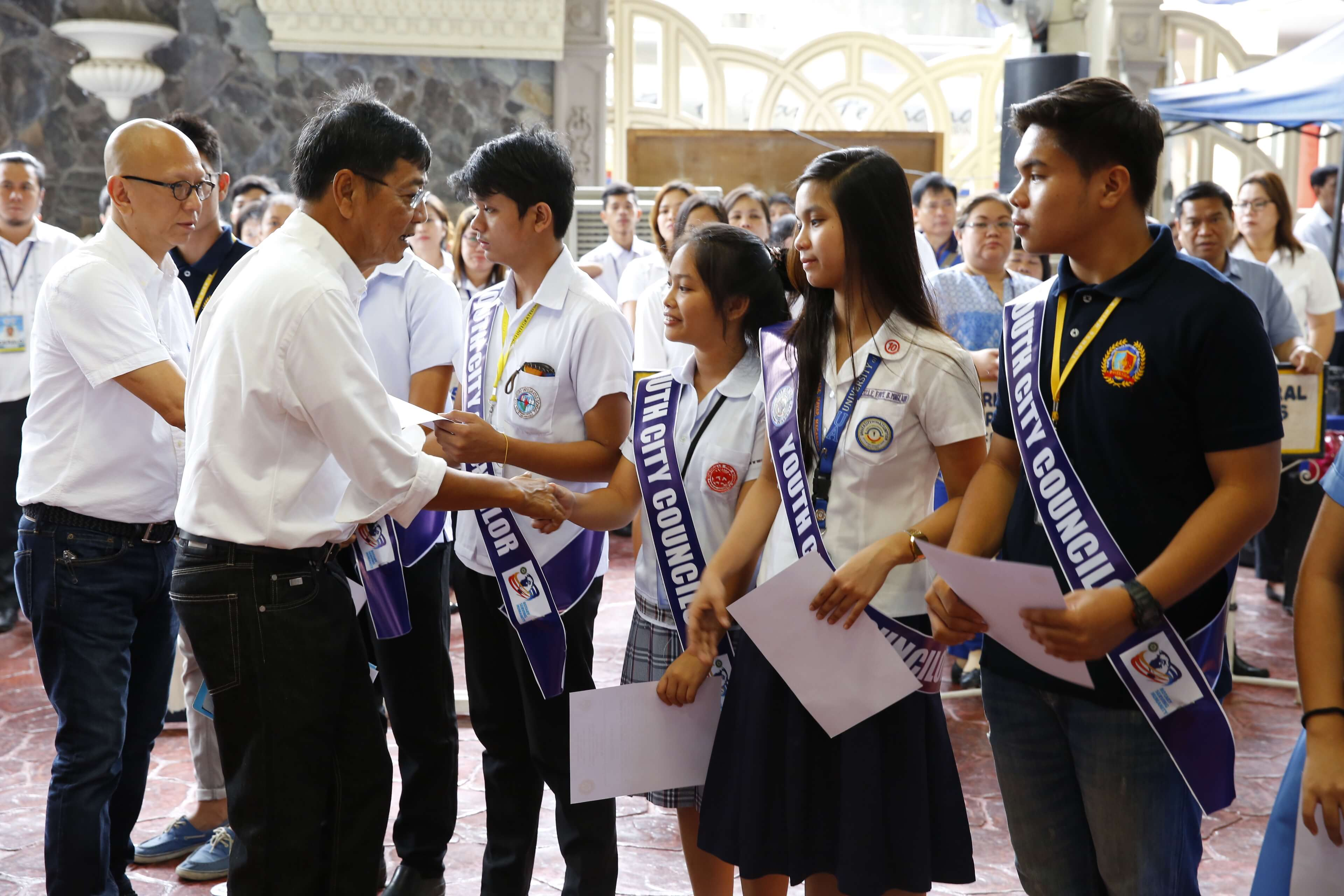 CSF Youth Officials Take Oath