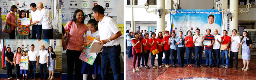 CSF recognizes barangay nutrition committee and scholar