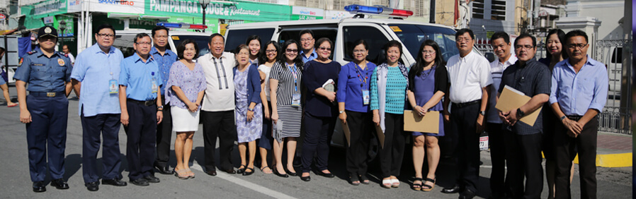CSF Improves Health Operations, Buys New Ambulance