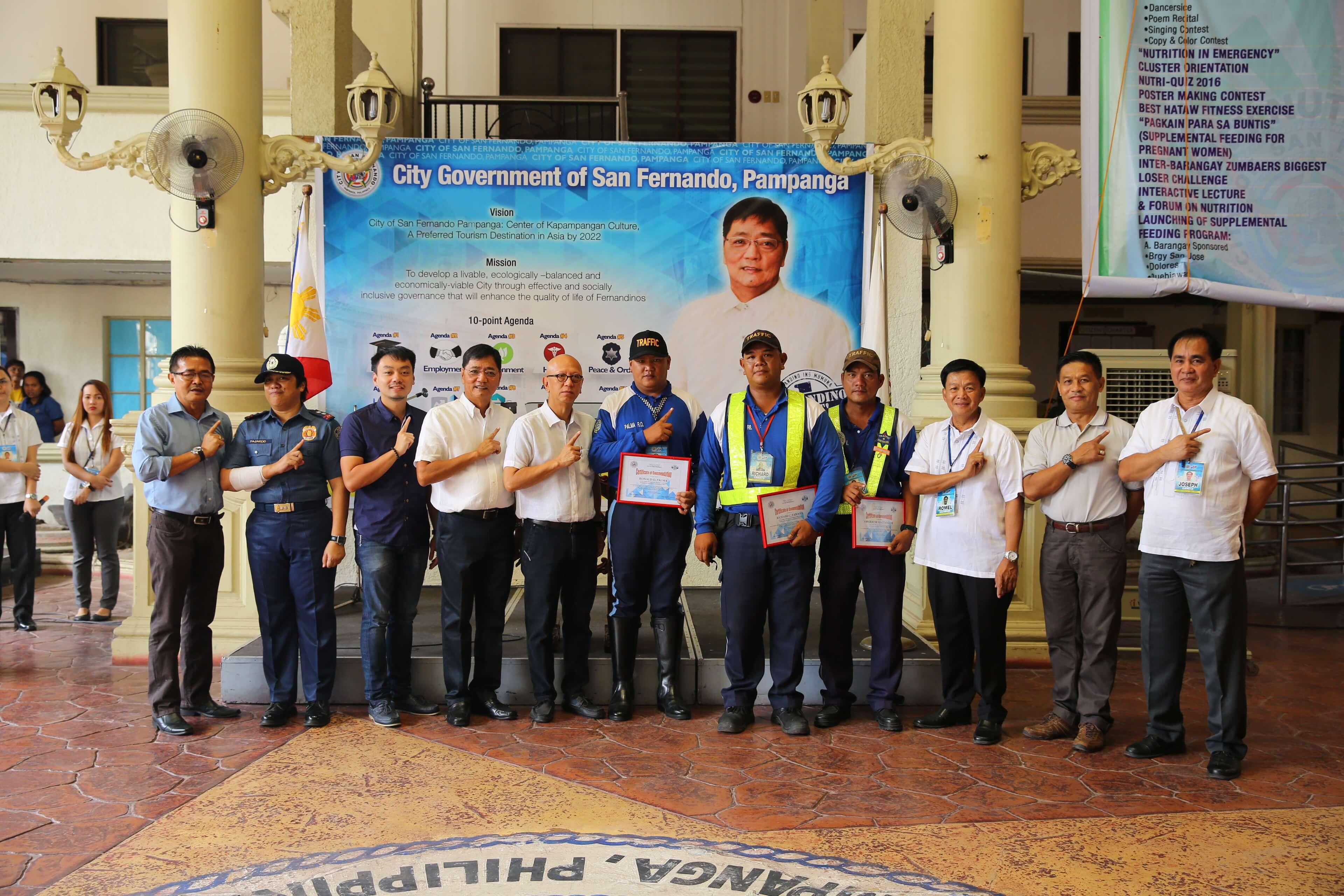 CSF Lauds Traffic Enforcers For Public Safety Efforts