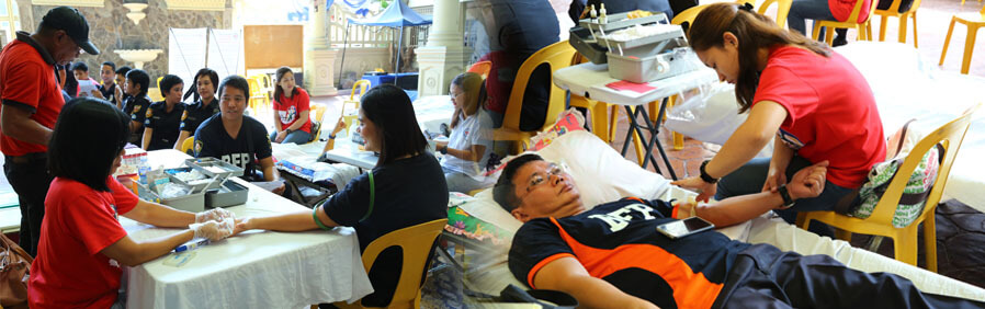 CSF Advocates Voluntary Blood Donation