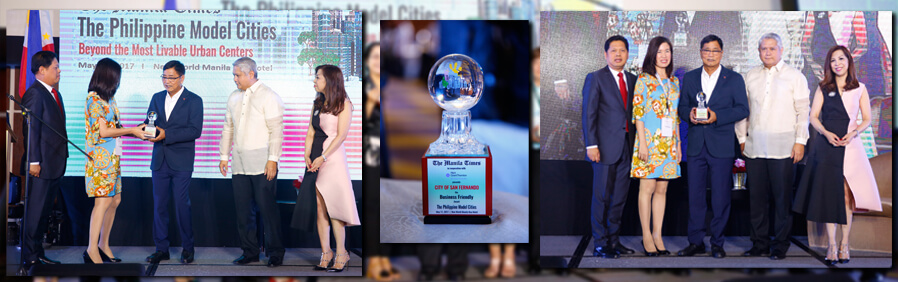CSF named 'Top Model City' by The Manila Times