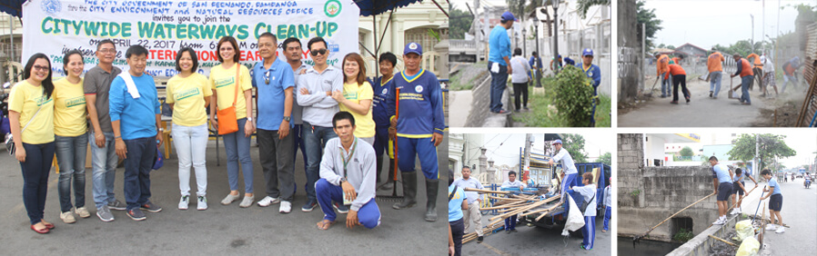 CSF conducts waterways clean-up drive