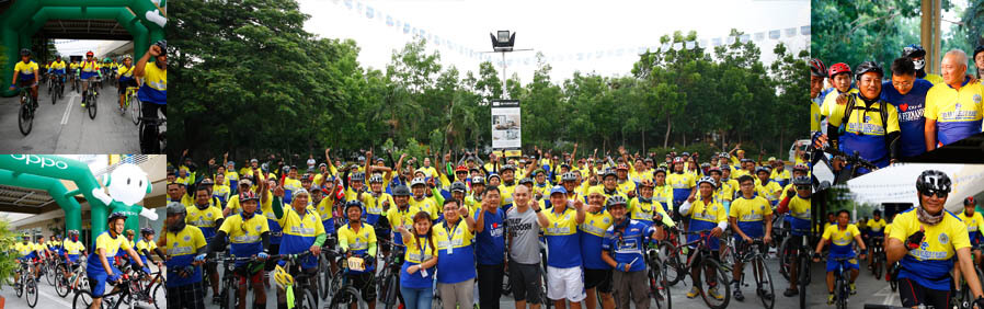 CSF promotes cycling for good health, environment conservation