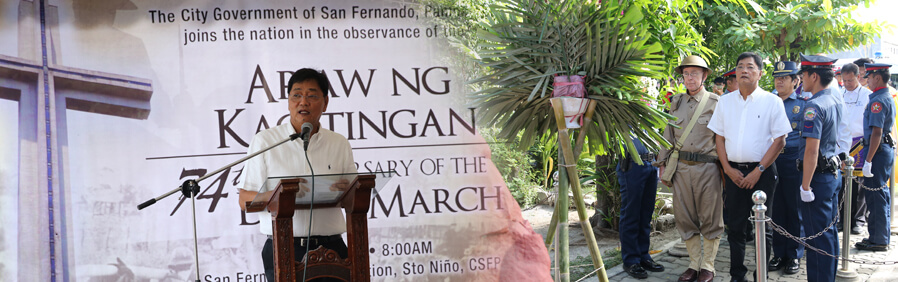Fernandinos Commemorate 74th Death March Anniversary