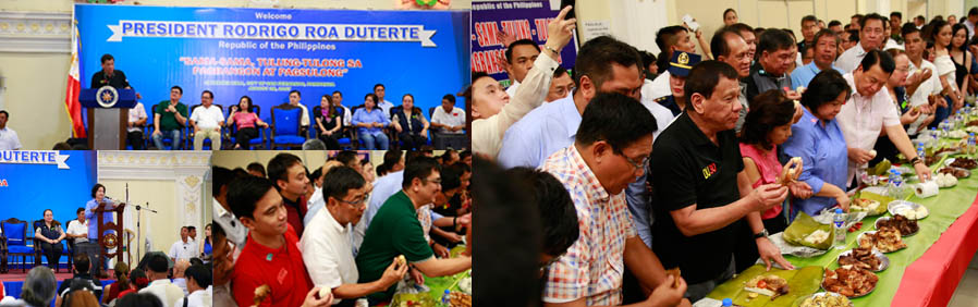 PDuterte leads chicken boodle fight in CSF