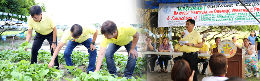 Harvest Festival Held, Mayor Santiago Pushes For Long-term Food Security