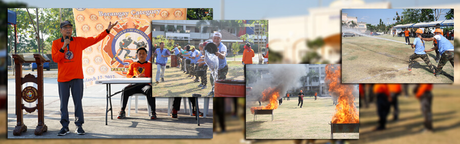 Barangays compete in CSF Fire Olympics