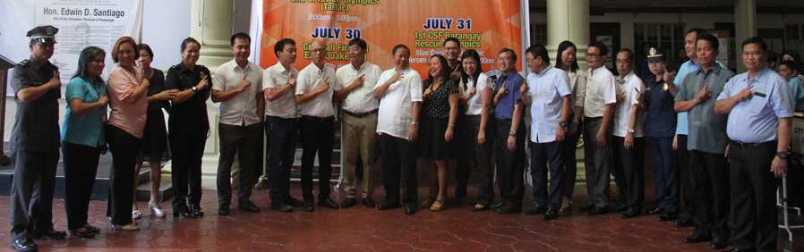 CSF Observes National Disaster Consciousness Month