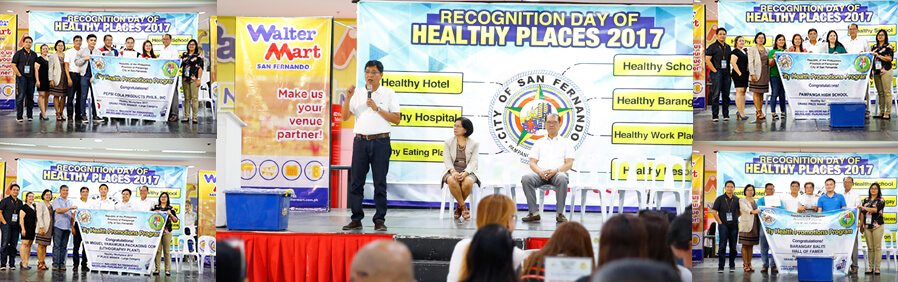 Healthy places in CSF named
