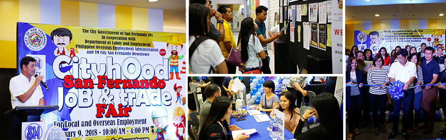 Job Fair in CSF held in line with the Cityhood Celebration